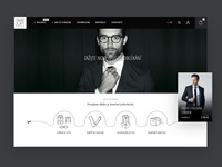 New Web Design Soaked with Style!