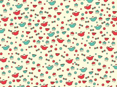 Kids Bubblegum Tea Pattern
