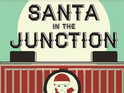 Santa in The Junction