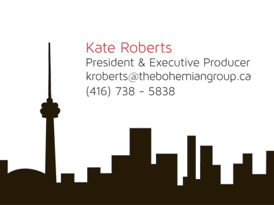 The Bohemian Group Business Card (Side 2)