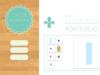 Chloe Norman Portfolio Design 2