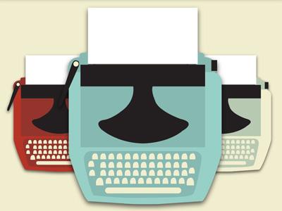 Analog Tuesday Typewriter Graphics
