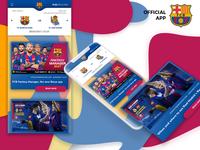 FC Barcelona App | Concept Redesign