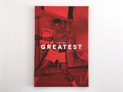 Muhammad Ali Poster FREE legend boxer box typography print download free poster clay cassius ali muhammad