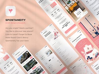 Spontaneity-UIUX-Solving-your-multiple-needs sketch logo typography illustration designer vector ux app ui design