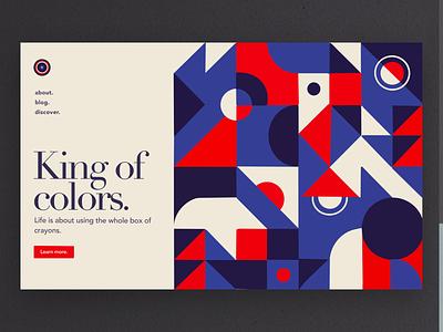 Colors & Patterns typography illustration designer vector ux app ui design pattern design colorful art patterns color
