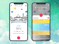Weather App Dashboard 2