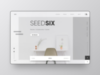 Landing Page - Seed Six ( Co-Working Space)