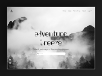 Adventure Breeze - Landing Page
