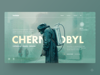 UI Design - Chernobyl