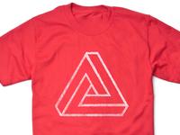 Penrose (white on red)