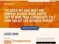 BeeneGarter Site Design