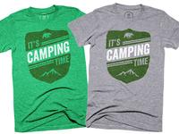 It's Camping Time (Cotton Bureau)