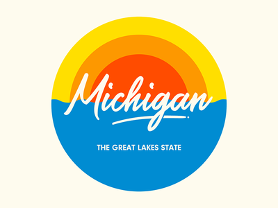 Michigan Pin