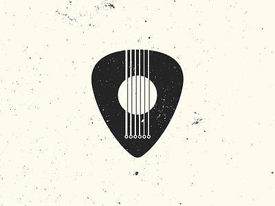 Guitar graphic design string guitar strings pick guitar pick logo band music minimalism guitar