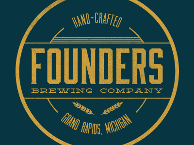 Founders Brewing Company seal grand rapids michigan logo founders brewery grand rapids michigan moonshiner