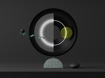GMTC cgi render colors design abstract blender3d illustration