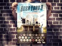 Poster for craft beer festival