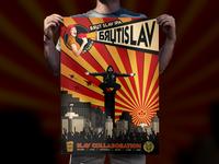 Brutislav - craft beer poster