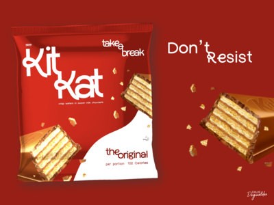 KitKat Wrapper Redesign 🍫  Weekly Warm-ups