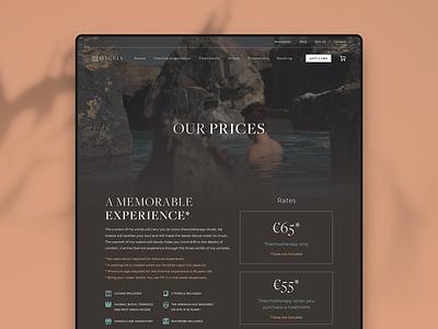 Hygeia — Prices logo colour branding website webdesign ui identity digital design brand