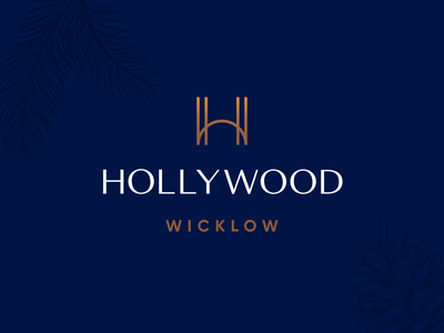 Hollywood — Logo Concept 1 graphic design vector illustration digital logo branding design identity colour brand