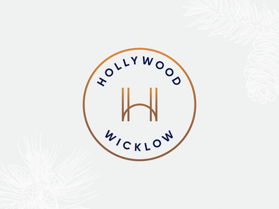Hollywood — Logo Concept 2 graphic design vector illustration digital logo branding design identity colour brand