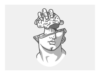 24 - The Heist design illustrations illustration illustrator vector illustration vector hand drawn antique statue