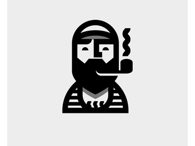 Sailor - 25 vector design logos logo design logo maker logo mark bold logo logodesign logo bold lines bold man guy smoking pipe sailing sailor jerry sailor