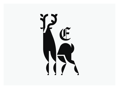 Guardian of the forest illustration art logomark logo illustration logodesign logo minimal design illustration geometric design geometric elk