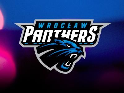 Panthers Wrocław sport football nfl panther logo american touchdown ball team wild cat wrocław panthers cat