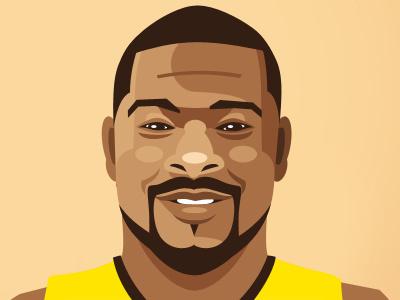 Lance Jeter - Cartoon cartoon basketball nba sport portrait vector