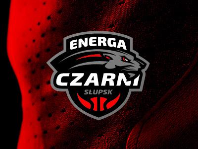 Energa Czarni Słupsk sport basketball nba nfl sports branding panther wildcat wild cat