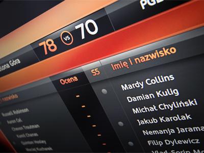 Scoring Board basketball sport nba scoring card nfl television tv soccer football onscreen scoring board score