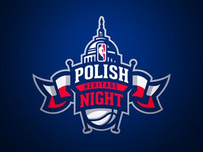 Polish Heritage Night sport nba basketball marcin gortat washington wizards polish heritage night sports branding capitol poland