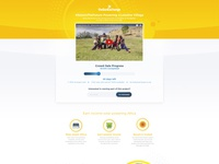 The Sun Exchange - Landing Page Design