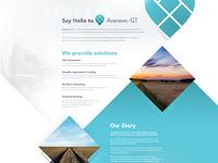 Avenews-GT - Landing Page