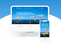 The Sun Exchange website redesign