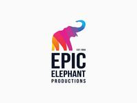 Epic Elephant logo concept