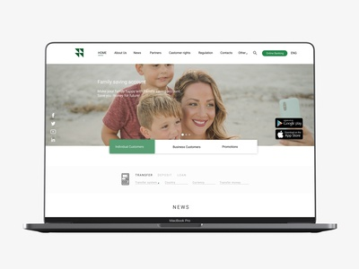 """Inecobank CJSC "" Website Redesign"