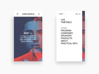 Daily UI - Event layout prototype simplicity sophisticated clean elegant daily design ux ui layout minimalist