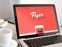 Flyer app design Screenshot