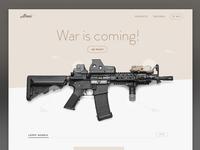 Armi landing page