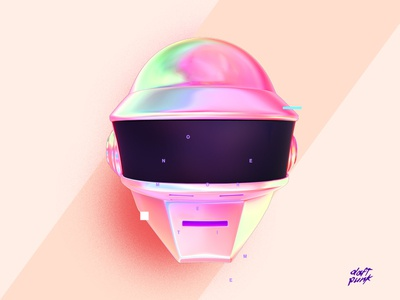 Daft Punk Poster Baugasm Day 270