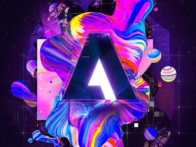 Adobe Remix branding adobe logo sensei gradient remix adobe baugasm photoshop adobe remix