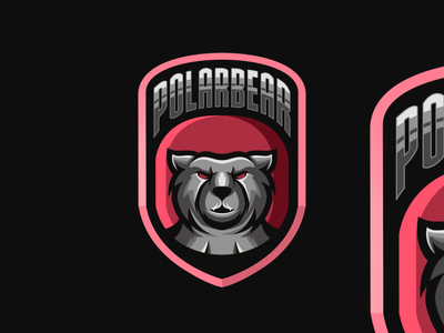 Polarbear logo branding ui illustration vector sketch design ilustration coreldraw ilustrator logo