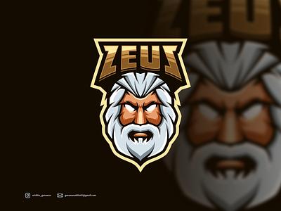 zeus logo branding ui illustration vector sketch design ilustration coreldraw ilustrator logo