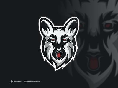 Dog logo branding ui illustration vector sketch design ilustration coreldraw ilustrator logo