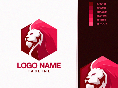 lion animation branding design art vector sketch design ilustration coreldraw ilustrator logo