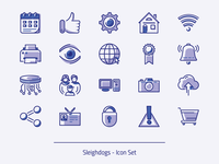 SLD Icon Set - Preview